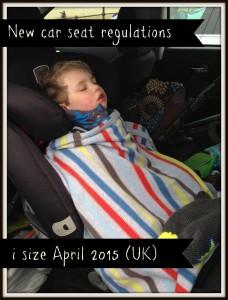 car seat regs