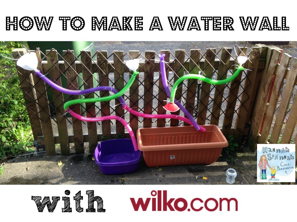 how to make water wall