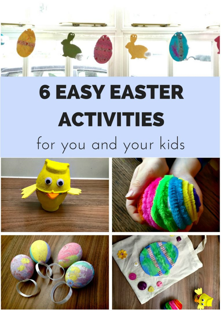 6 easy easter activities for you and your kids