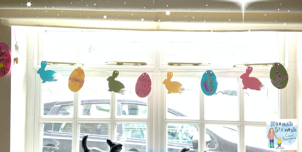 Easter craft idea's Easy Pretty Easter Bunting