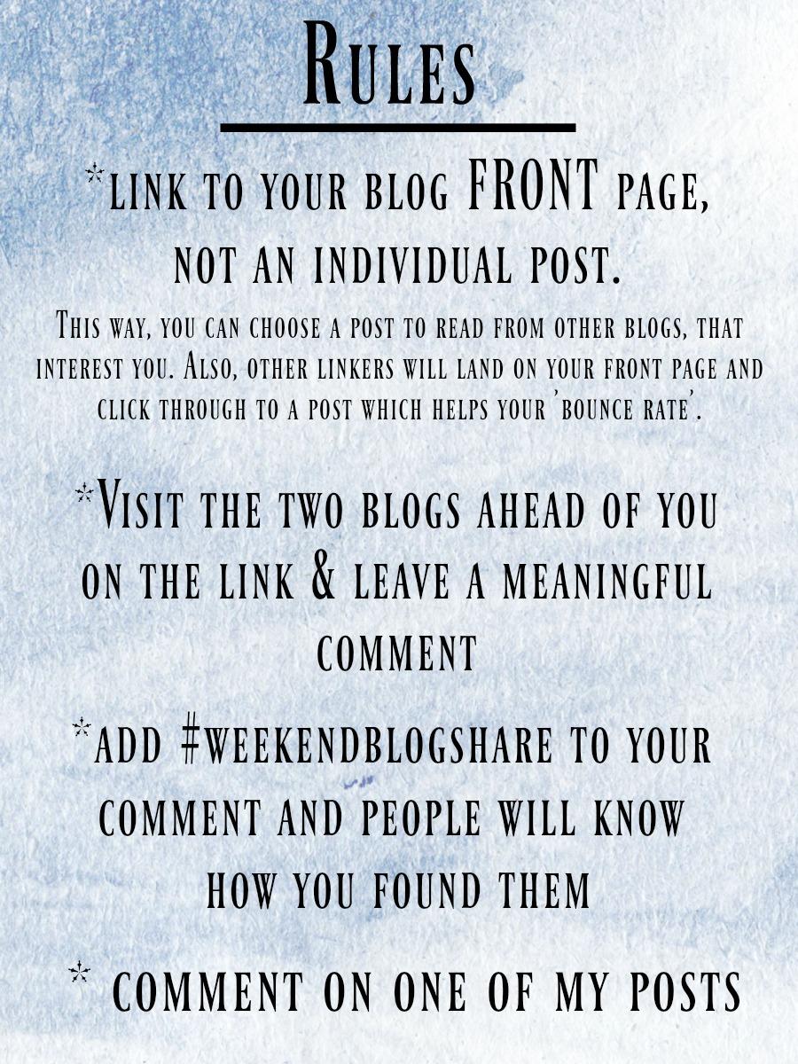 Weekend Blog Share