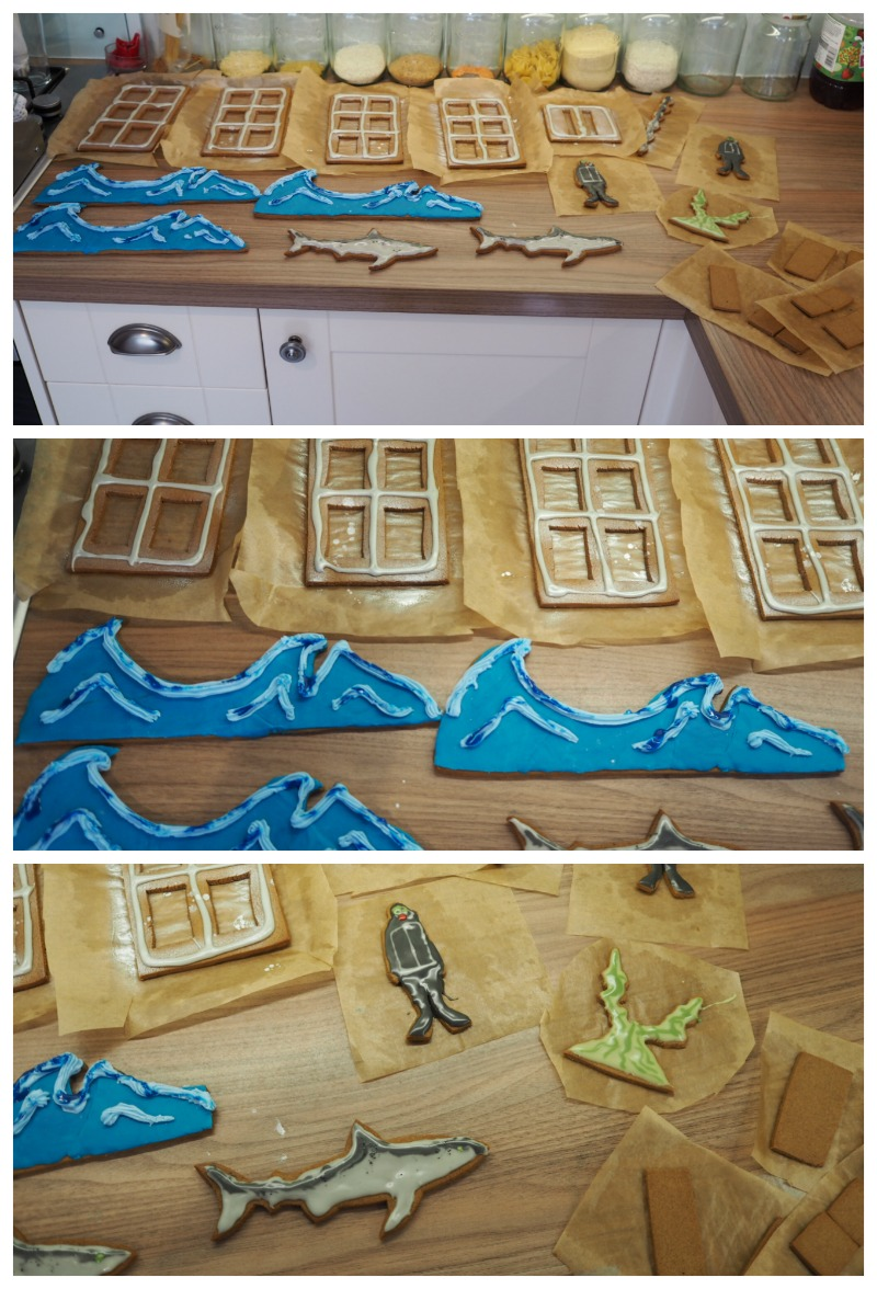 3d gingerbread story
