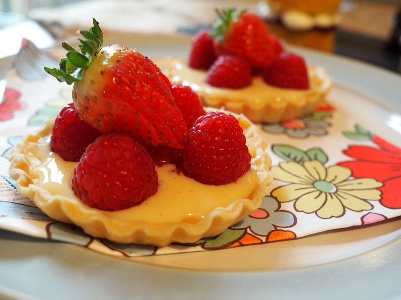 great british bake off final fruit tarts