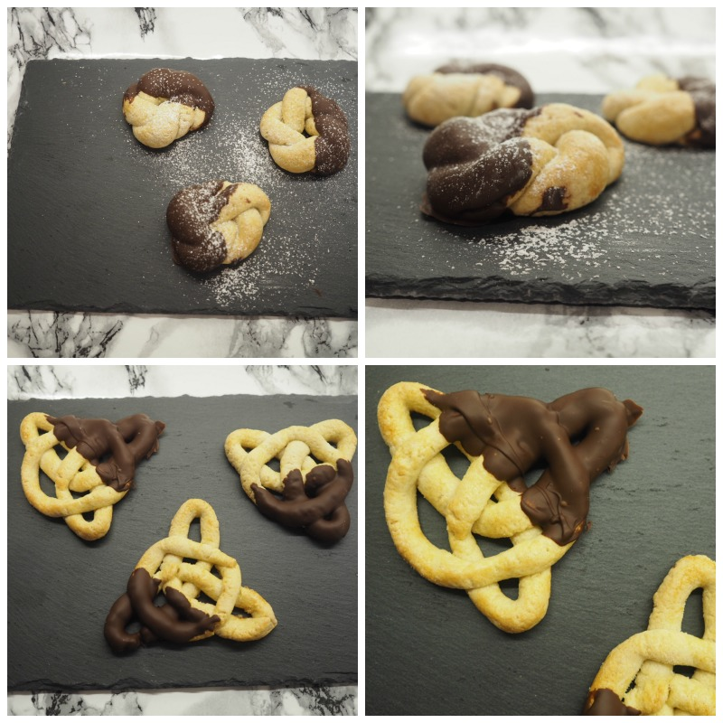 bake off tudor jumbles celtic knot biscuits
