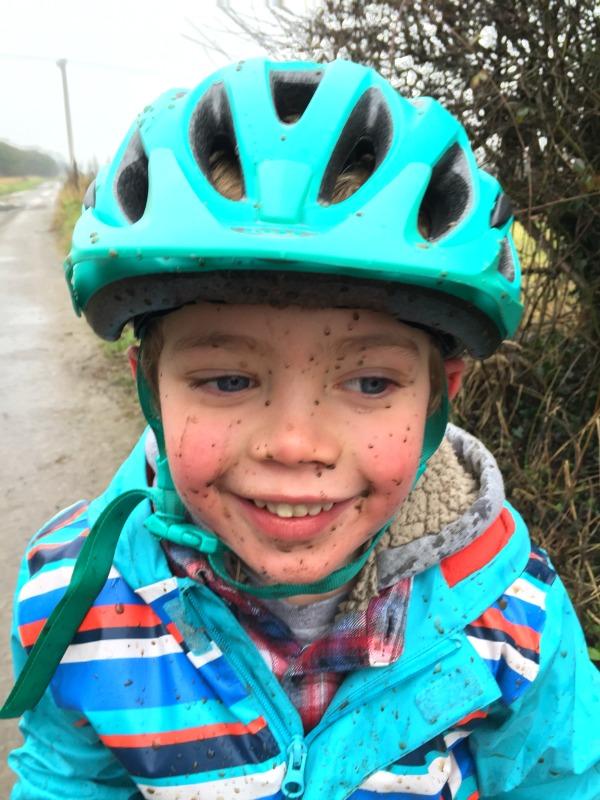 living arrows a happy boy is a muddy boy
