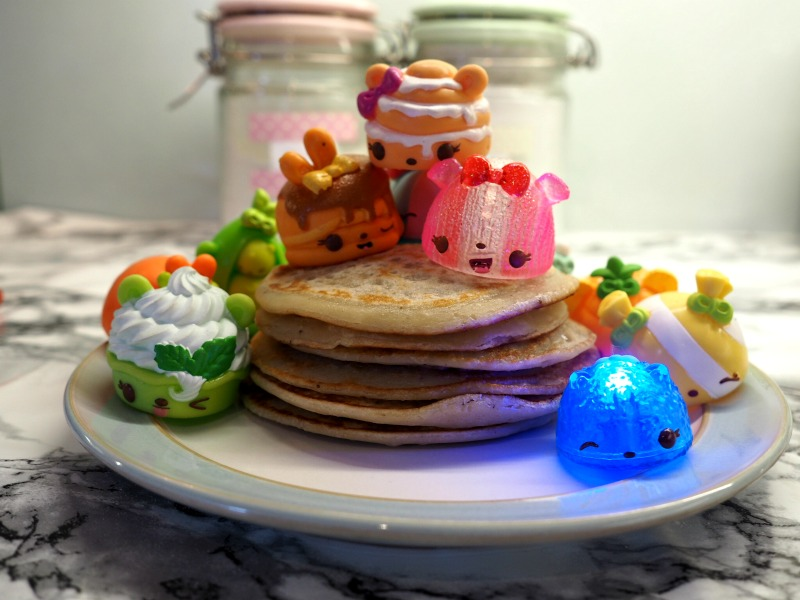This year we are having a Num Noms Pancake Day as they are inspiring our flavours. It's the one day that you can have a guilt free sugar laden meal for tea. How's this for a VEGAN stack? Yum!