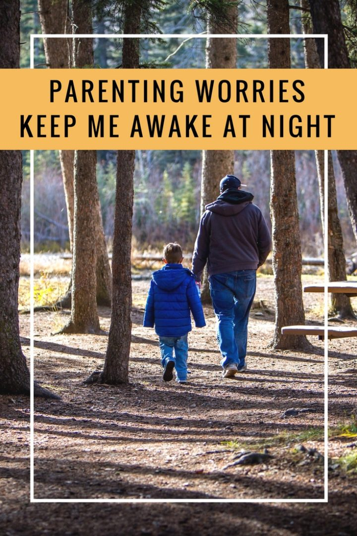 Parenting worries keep me awake at night