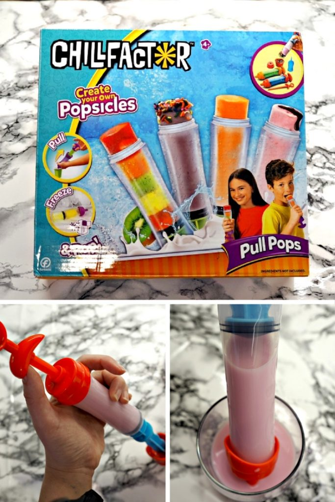 Home made and healthy Ice Pops are easy to make with the brilliant Chill Factor Pull Pops kit. Watch & read how we found it....
