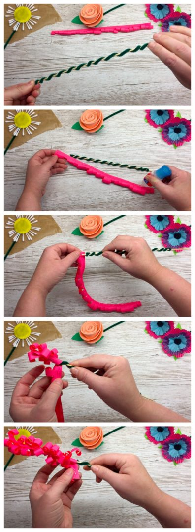 How to make a beautiful bunch of flowers. This craft tutorial is for a paper Hyacinth. We hope you like it