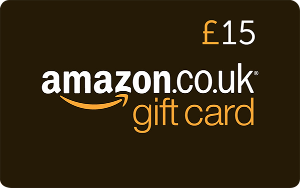 Competition Win an Amazon £15 gift voucher