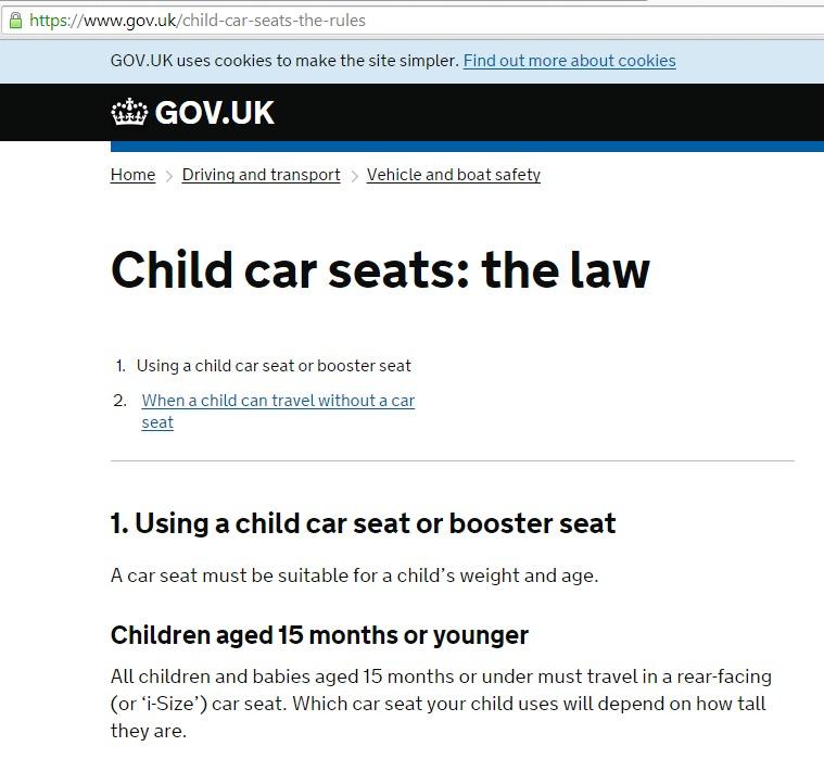 New child car seat regulations i-size April 2015 (UK) – Hannah Spannah