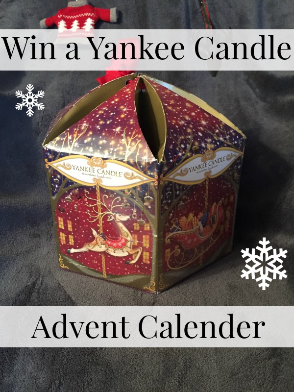 Win a yankee candle advent calendar