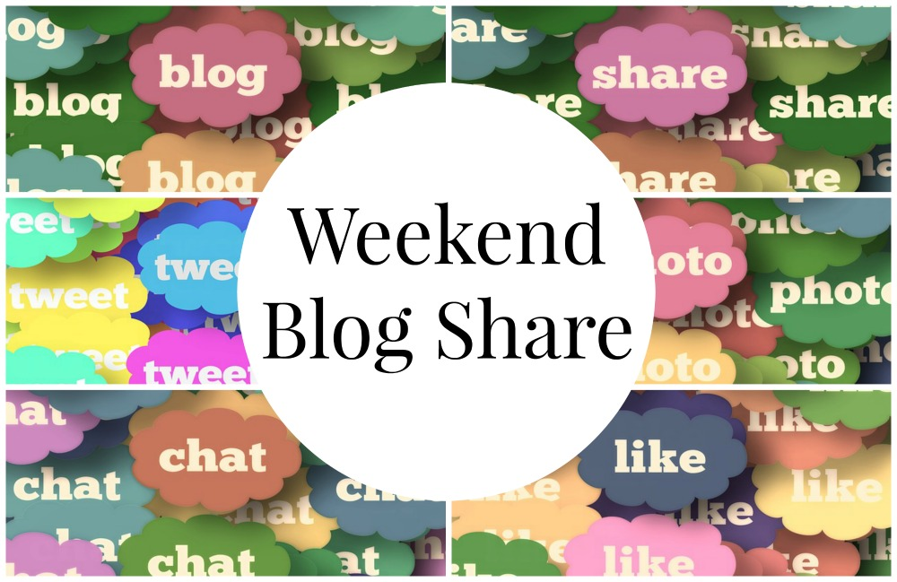 weekend blog share