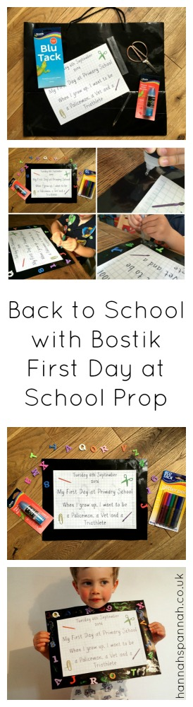 Back to school with Bostik