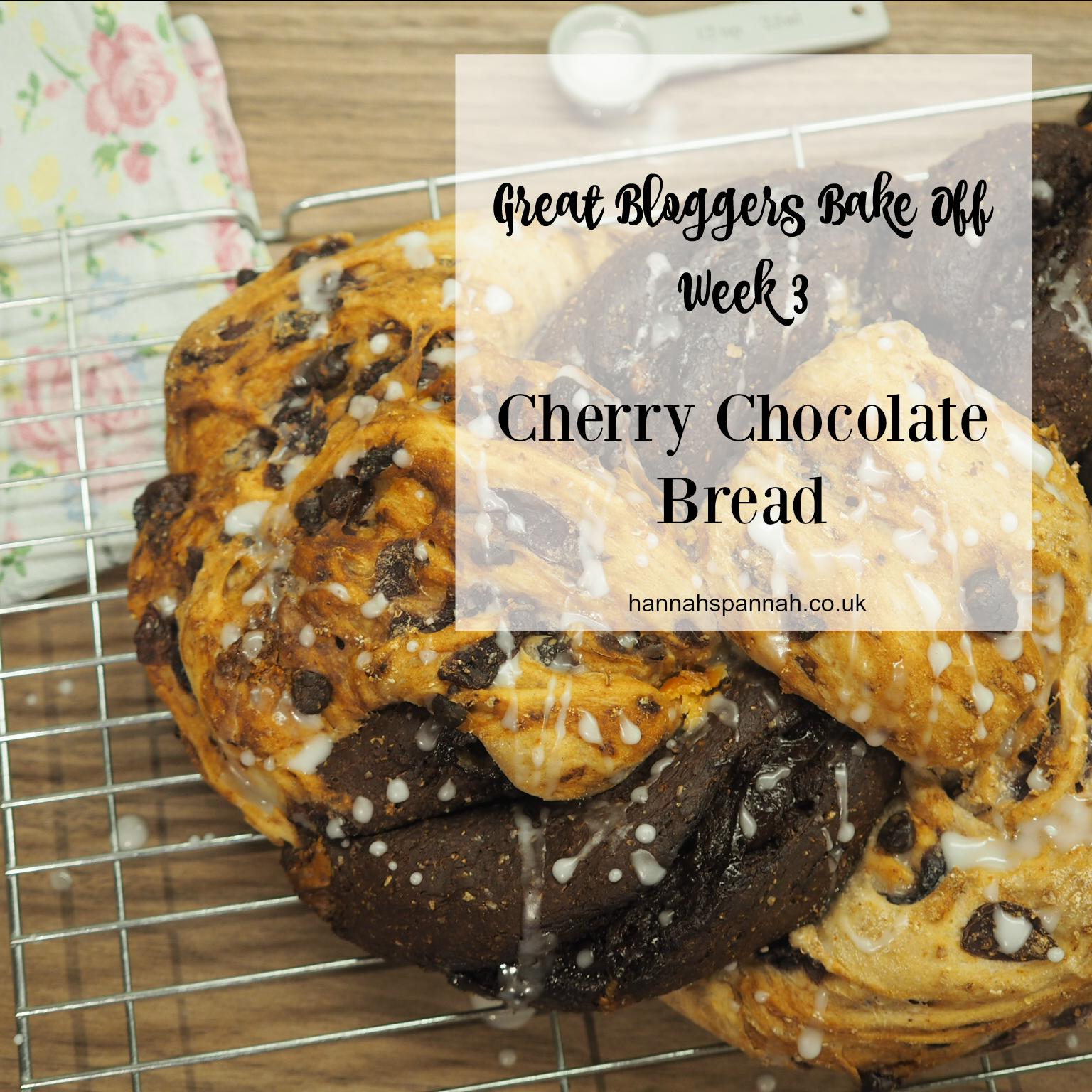 Cherry chocolate bread