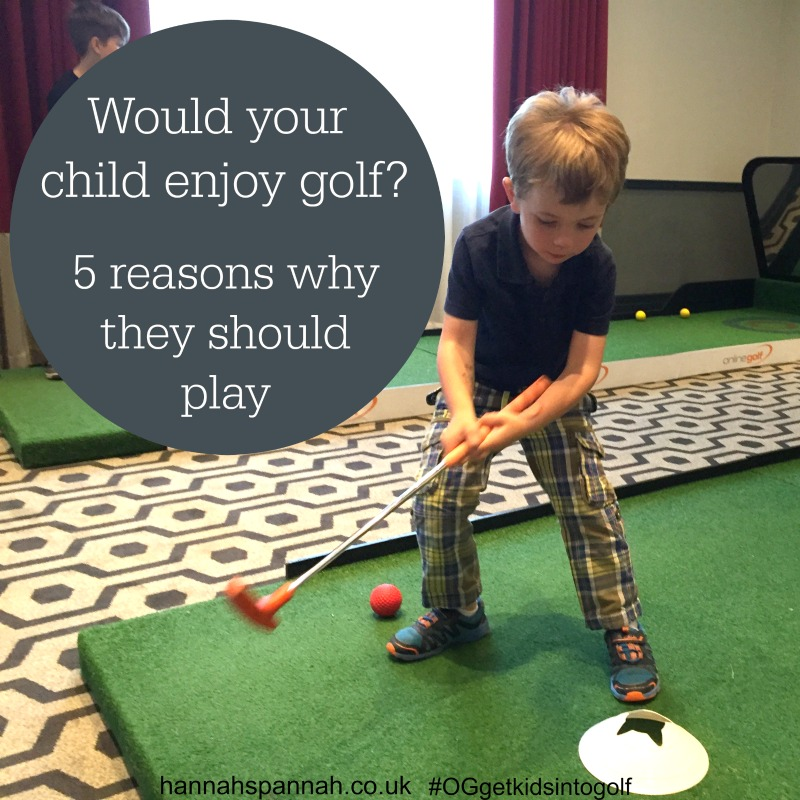 5 reasons why your child should play golf online golf