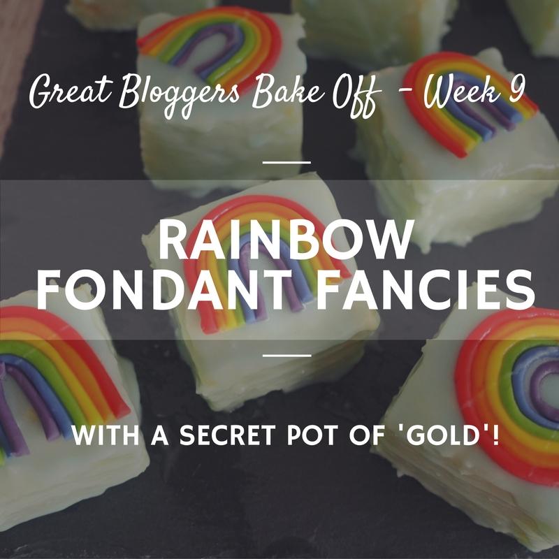 Great british bake off Fondant Fancies