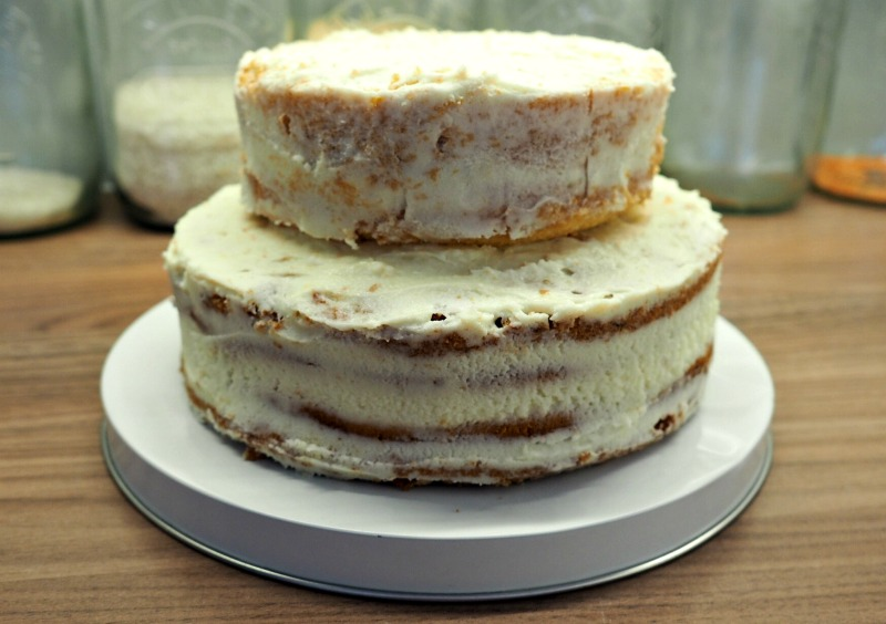 Bake Off Botanical Crumb Coat