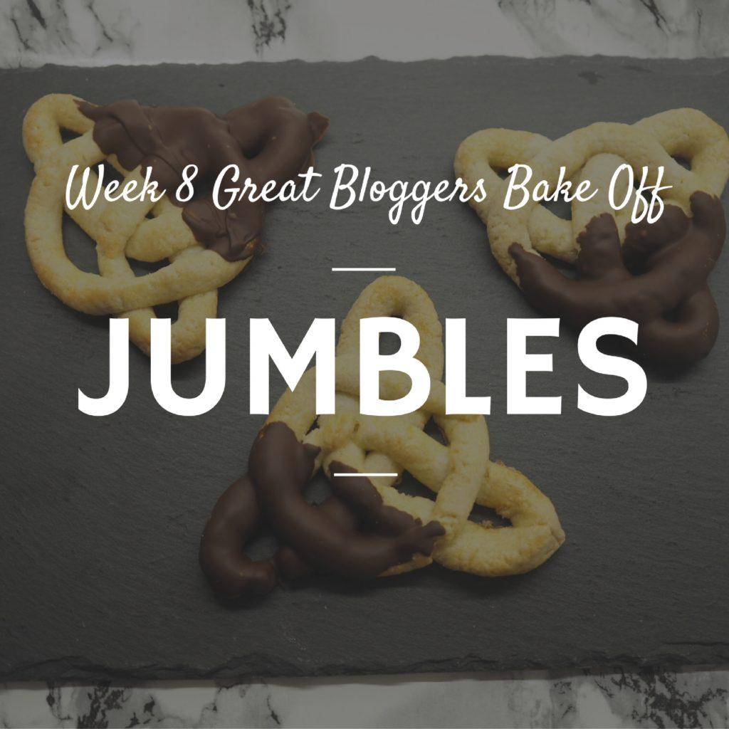 bake off tudor jumbles celtic knot biscuits