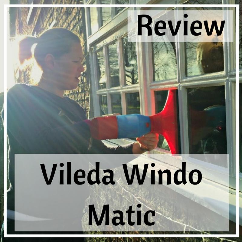 Vileda windo matic review hannah spannah - Vileda windo matic ...