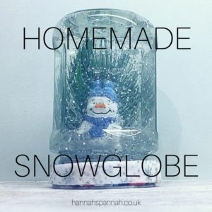 homemade snow globe bostik bloggers