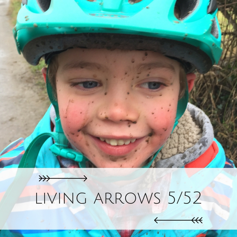 """You are the bows from which your children as living arrows are sent forth"". A muddy child is a happy child!"