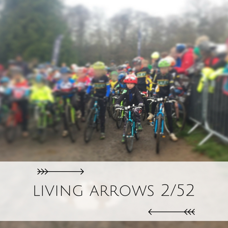 """""""You are the bows from which your children as living arrows are sent forth"""". His first Cyclocross race at 4 years old."""