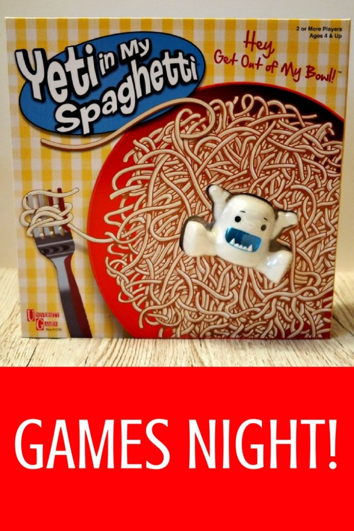 We love a good Games Night in our house and Yeti in my Spaghetti has become a firm favourite. What's a Yeti and why is it in my spaghetti?! Read on to find out