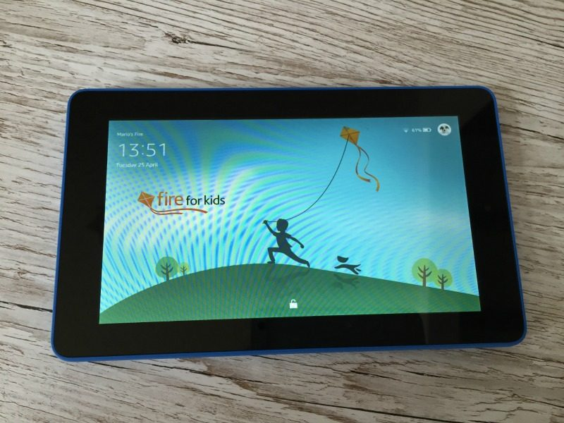 My home has been tablet free until now - we were recently sent an Amazon Fire to review and I bloody love it, we just now need another as I can't get it off...