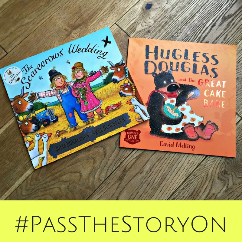 I was asked if I'd like to take part in a small book share to celebrate the 20th anniversary of World Book Day #PassTheStoryOn