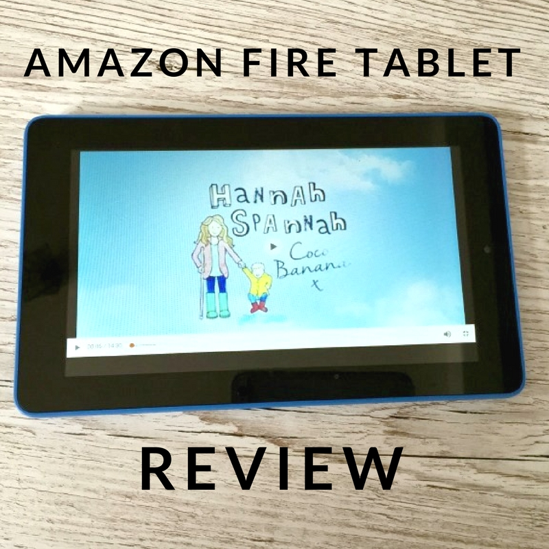 Our First Family Tablet | Amazon Fire Review - Hannah Spannah