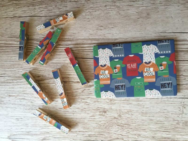 In a bid to teach more independence to my son, I came up with with this fun peg craft to help him remember which school supplies he needs to take on each day